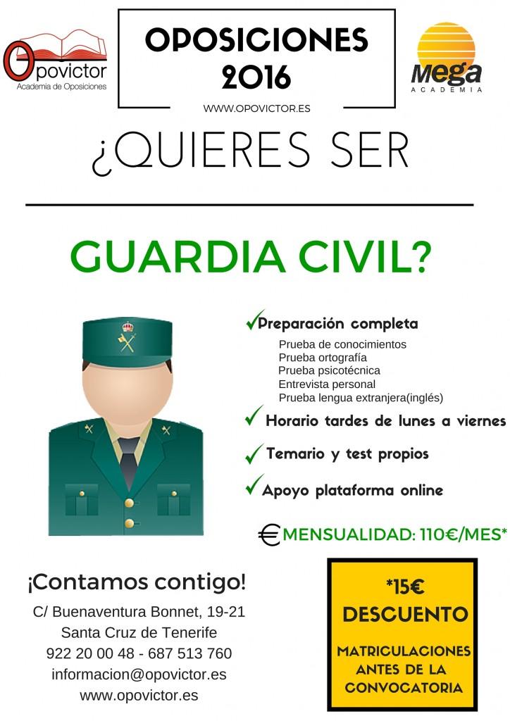 GUARDIA CIIVL DESCUENTO