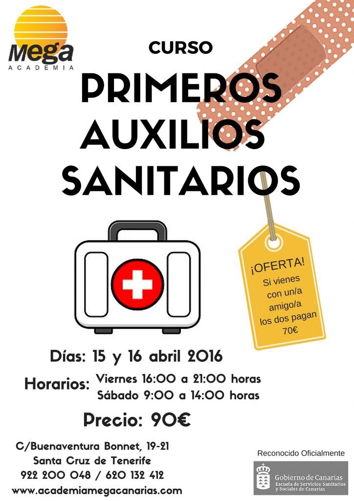 PRIMEROS AUXILIOS SANITARIOS